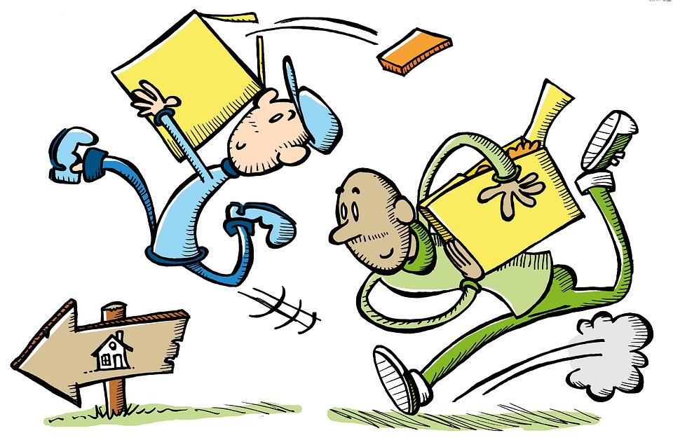 Verhuizen illustratie